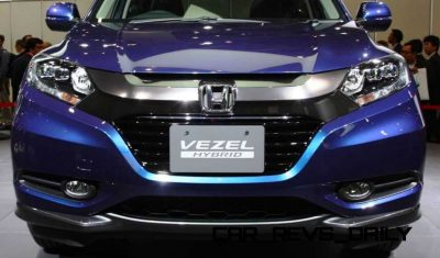 Cool! 2015 Honda Vezel Hybrid Previews Spring 2014 Civic CUV8
