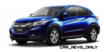 Cool! 2015 Honda Vezel Hybrid Previews Spring 2014 Civic CUV9