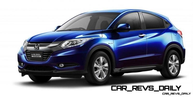 Cool! 2015 Honda Vezel Hybrid Previews Spring 2014 Civic CUV9