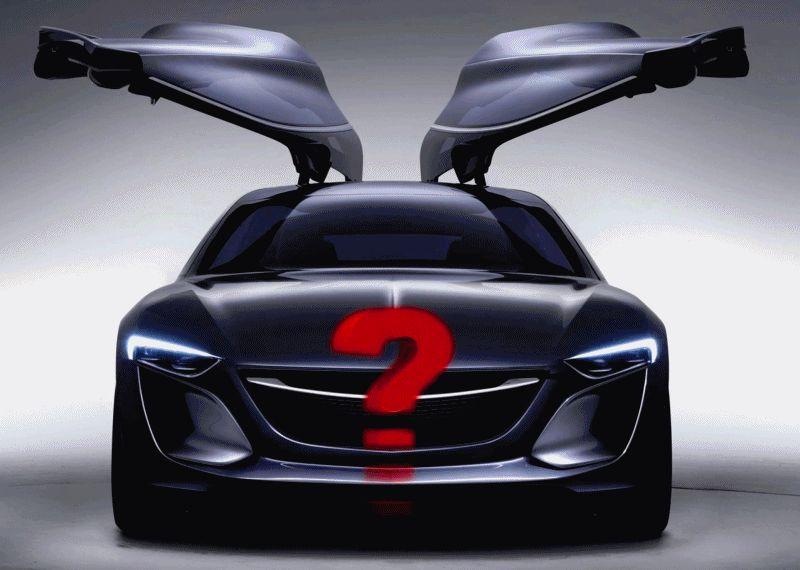 EuroChevy Runs out of Gas - Opel Monza Concept GIF