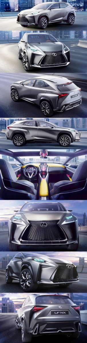 Fascinating LF-NX Turbo Concept Previews Exciting New Surfaces1-vert888