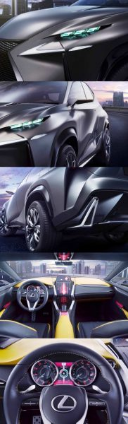 Fascinating LF-NX Turbo Concept Previews Exciting New Surfaces1-vert99