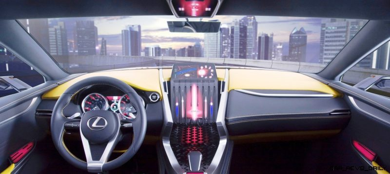 Fascinating LF-NX Turbo Concept Previews Exciting New Surfaces12