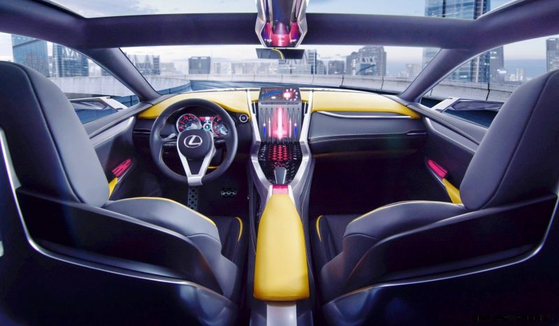 Fascinating LF-NX Turbo Concept Previews Exciting New Surfaces5