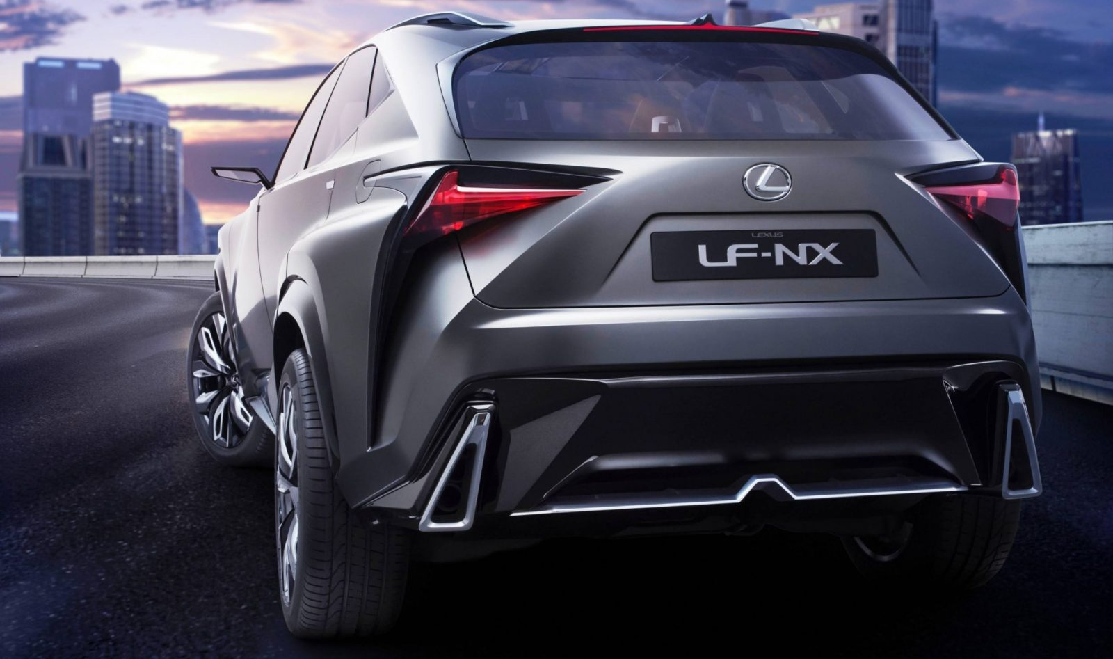 Fascinating LF-NX Turbo Concept Previews Exciting New Surfaces8