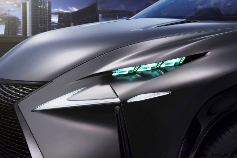 Fascinating LF-NX Turbo Concept Previews Exciting New Surfaces9