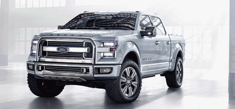 Ford Atlas Concept and Super Duty Platinum ANIMATION