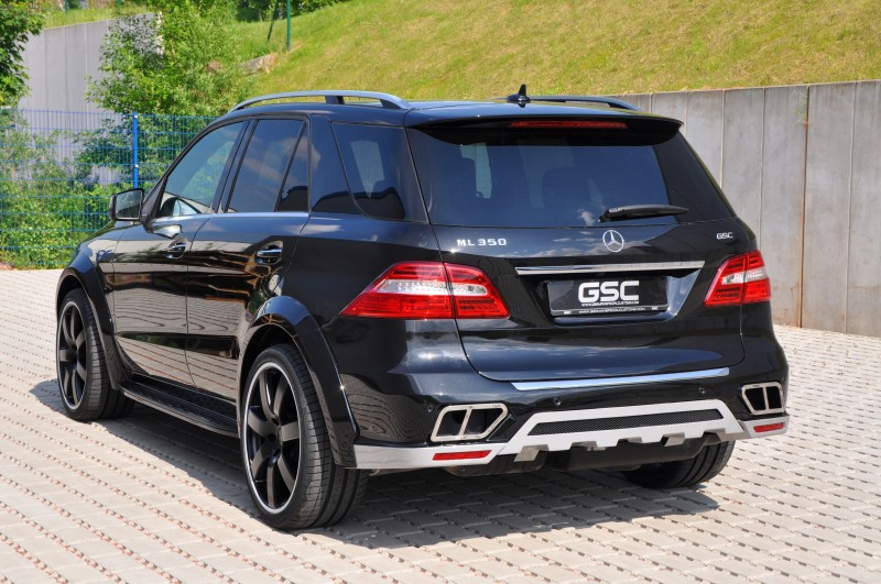 German Special Customs Turns Mercedes-Benz ML into Autobahn Cruise Missile 2