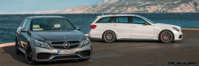 2014 E63 AMG 4MATIC Sedan & Wagon