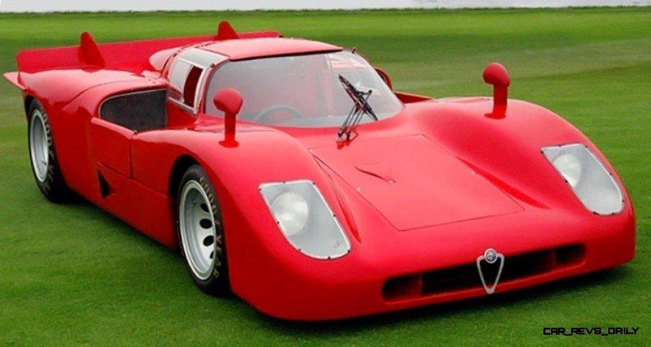 Hero Racecars - 1970 Alfa-Romeo Tipo 33-4 TASMAN 15