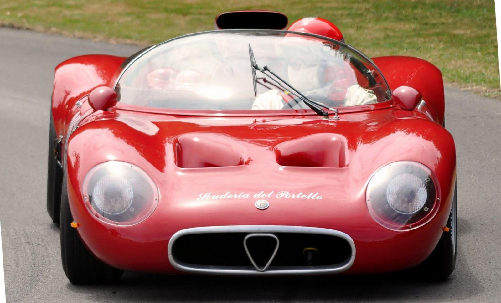 Hero Racecars Alfa-Romeo Tipo 33-2 LeMans and Mugello2