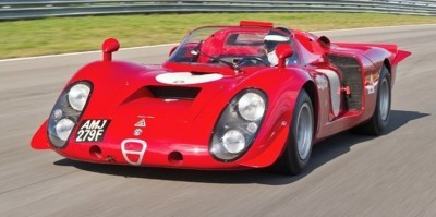 Hero Racecars Alfa-Romeo Tipo 33-2 LeMans and Mugello4