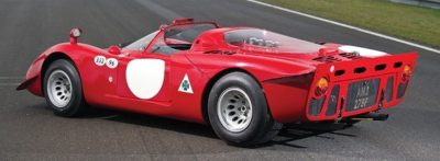 Hero Racecars Alfa-Romeo Tipo 33-2 LeMans and Mugello6