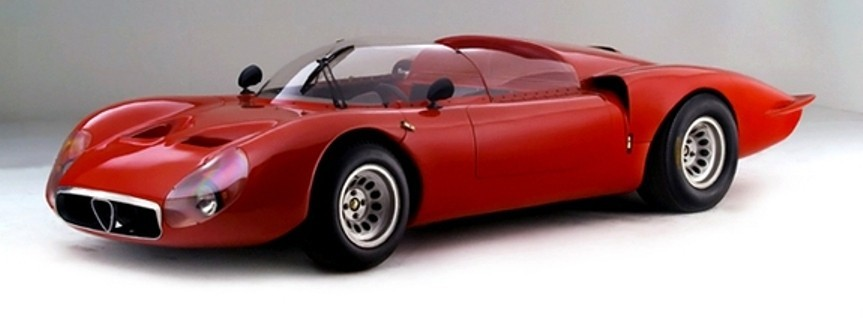 Hero Racecars Alfa-Romeo Tipo 33-2 LeMans and Mugello7