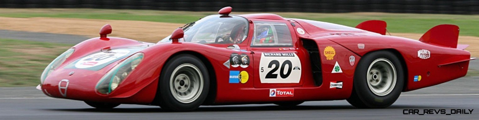 Hero Racecars Alfa-Romeo Tipo 33-2 LeMans and Mugello9