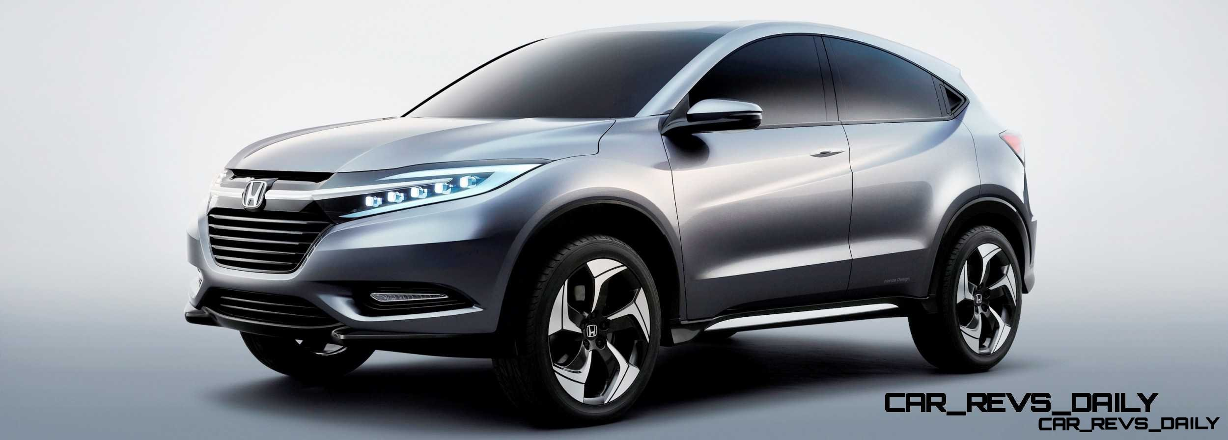 Honda urban suv concept car revs for Honda large suv