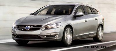 Hot New Wagons 2014 Volvo V60 17