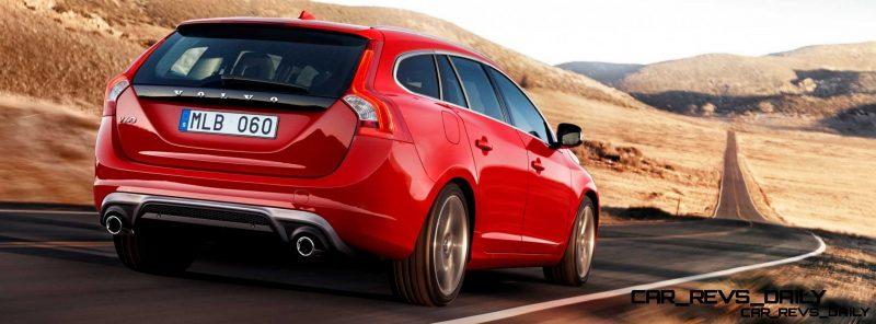Hot New Wagons 2014 Volvo V60 R-Design 3