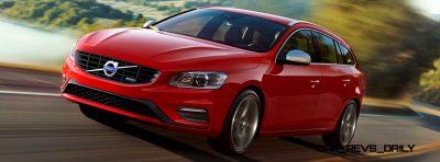 Hot New Wagons 2014 Volvo V60 R-Design 4