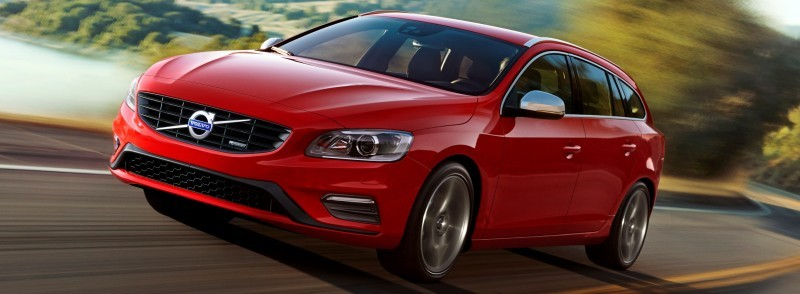 Hot New Wagons 2014 Volvo V60 R-Design 4