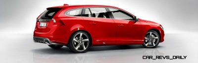 Hot New Wagons 2014 Volvo V60 R-Design 5