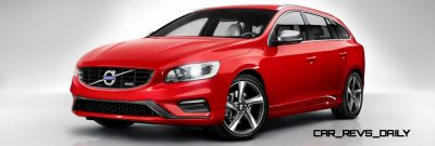 Hot New Wagons 2014 Volvo V60 R-Design 6