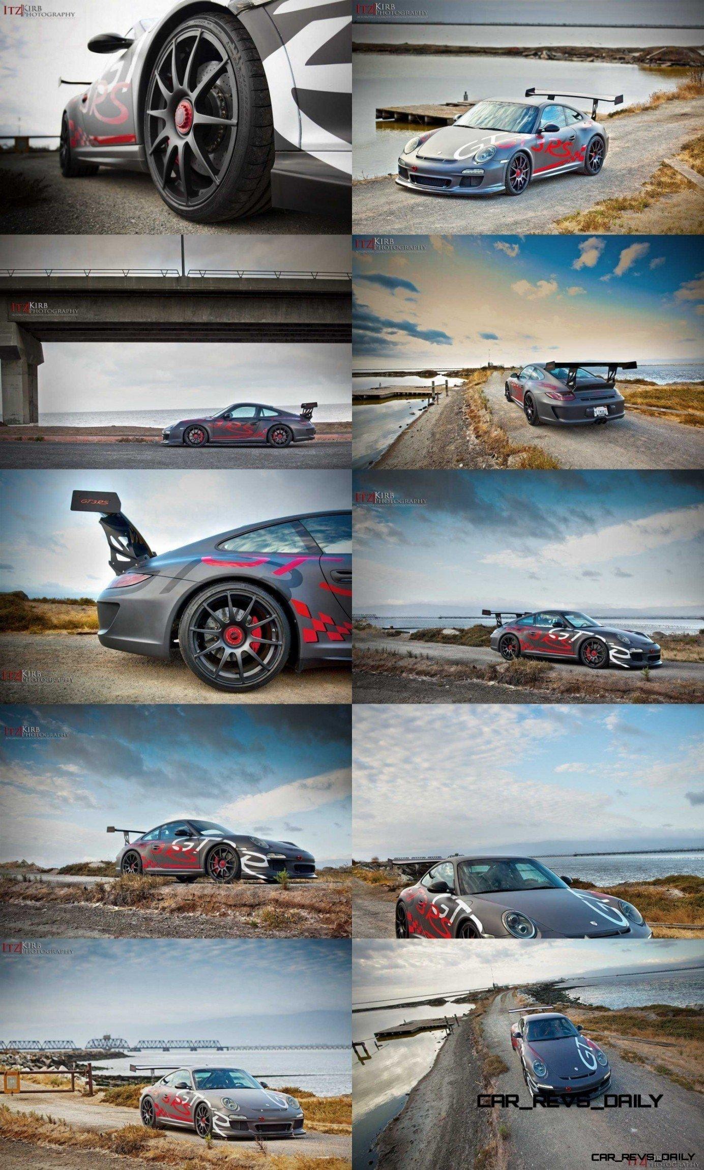 ItzKirb Captures the Wild Graphics of this Porsche 911 GT3 RS 5-tile