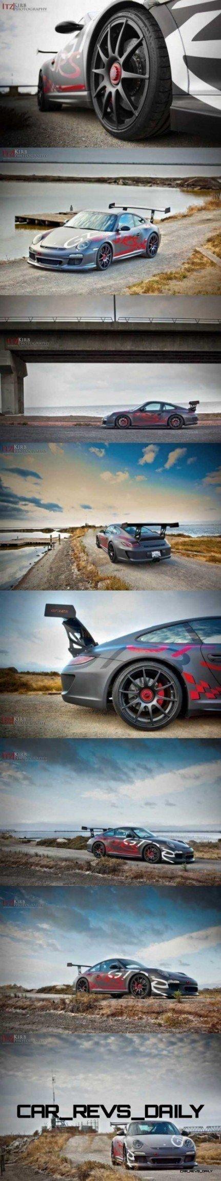 ItzKirb Captures the Wild Graphics of this Porsche 911 GT3 RS 5-vert