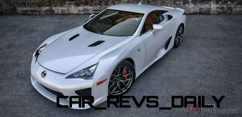 ItzKirb Photographs the Lexus LFA 17