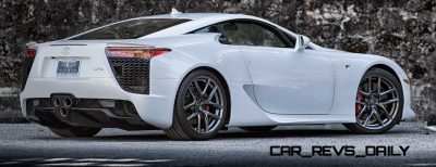ItzKirb Photographs the Lexus LFA 2