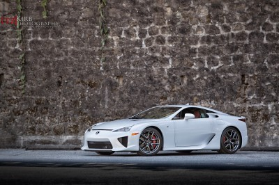 ItzKirb Photographs the Lexus LFA 3