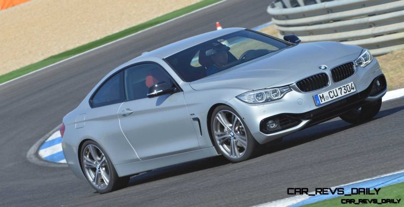 Latest BMW 435i Track Photos Show Beautiful Proportions 1