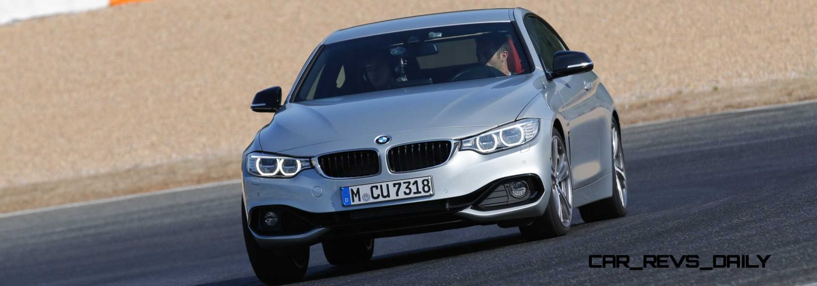 Latest BMW 435i Track Photos Show Beautiful Proportions 13