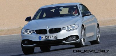 Latest BMW 435i Track Photos Show Beautiful Proportions 14
