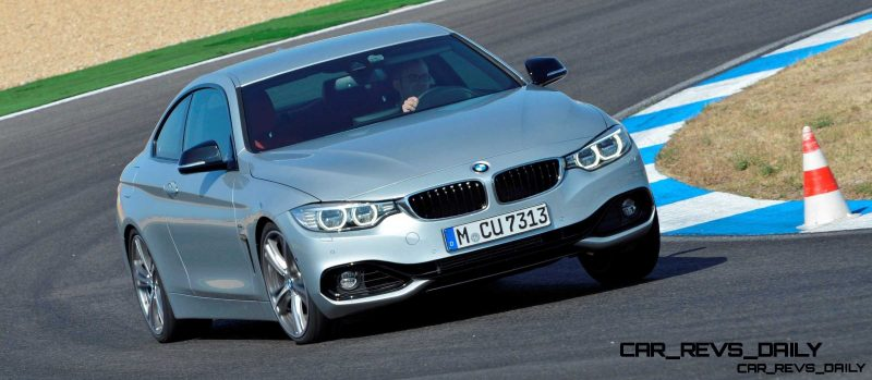 Latest BMW 435i Track Photos Show Beautiful Proportions 2