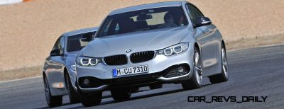 Latest BMW 435i Track Photos Show Beautiful Proportions 90