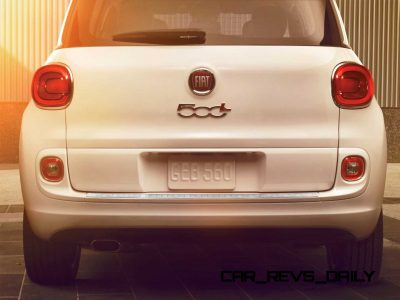 Latest Real-Life Photos Show a Much Cuter 2014 Fiat 500L 34