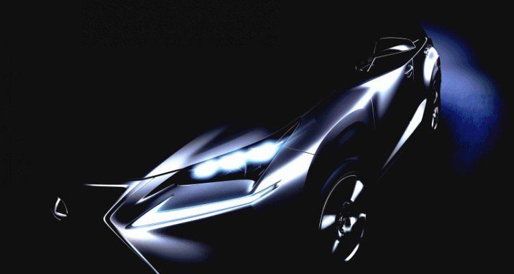 Lexus NX Beijing TEaser GIF