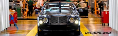 Loving the Bentley Mulsanne - Mega Galleries 50