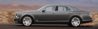 Loving the Bentley Mulsanne - Mega Galleries 79