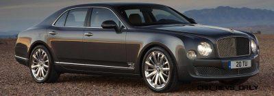 Loving the Bentley Mulsanne - Mega Galleries 80