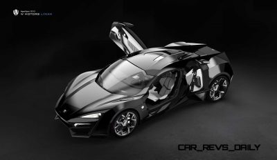Lykan HyperSport 2013_Black Edition OpenDoor