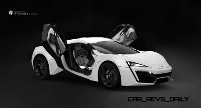 Lykan HyperSport 2013_White Edition OpenDoor
