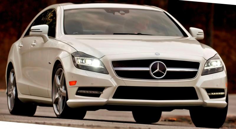 2012 Mercedes-Benz CLS550.