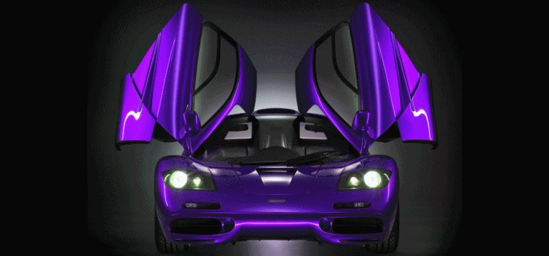 McLaren F1 Colors Rendering Animation GIF2