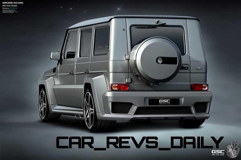 Mercedes G63 AMG - GSC - 2