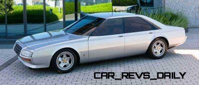 Most Copied 4-Door Never Made - 1980 Ferrari Pinin Concept 10