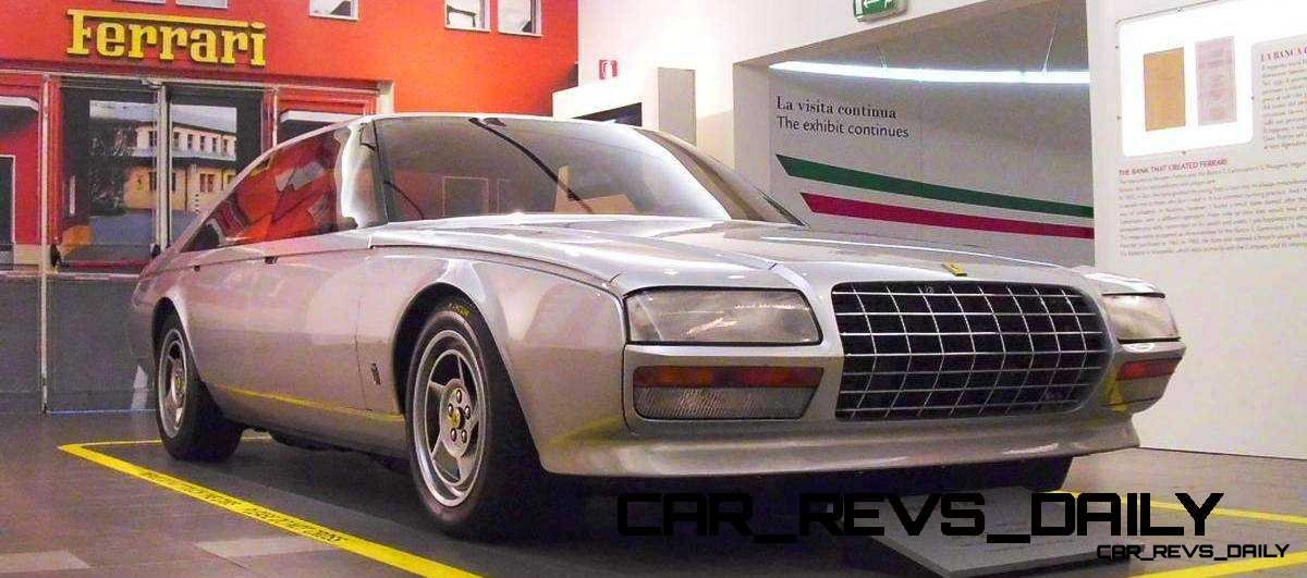 Most Copied 4-Door Never Made - 1980 Ferrari Pinin Concept 15