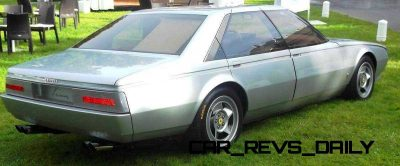 Most Copied 4-Door Never Made - 1980 Ferrari Pinin Concept 22