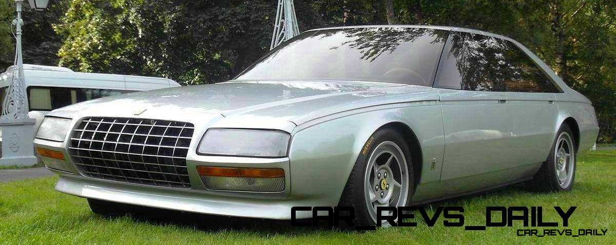 Most Copied 4-Door Never Made - 1980 Ferrari Pinin Concept 23